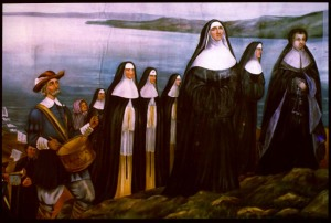 "Sister Marie-de-Jésus, ""Arrival of the Ursulines and the Sisters of Charity in New France"" (1928)"