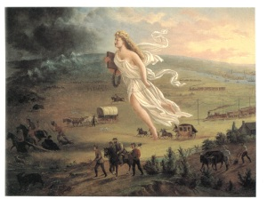 "John Gast, ""American Progress,"" 1872"