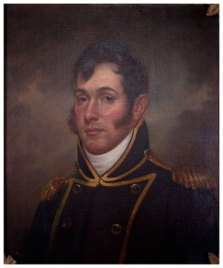 Oliver Hazard Perry by Rembrandt Peale, ca. 1813