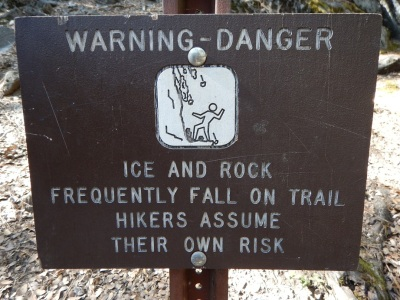 Yosemite warning