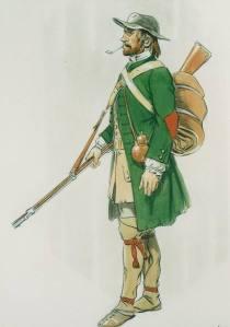 Acadian militiaman