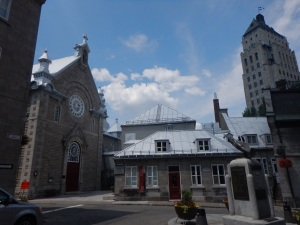 Ursuline convent, Quebec, July 10, 2015
