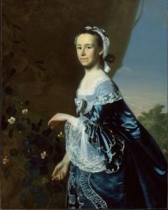 Portrait of Mercy Otis Warren (1728-1814), by John Singleton Copley, 1763