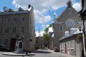 Ursuline chapel and convent, Quebec City, 2015