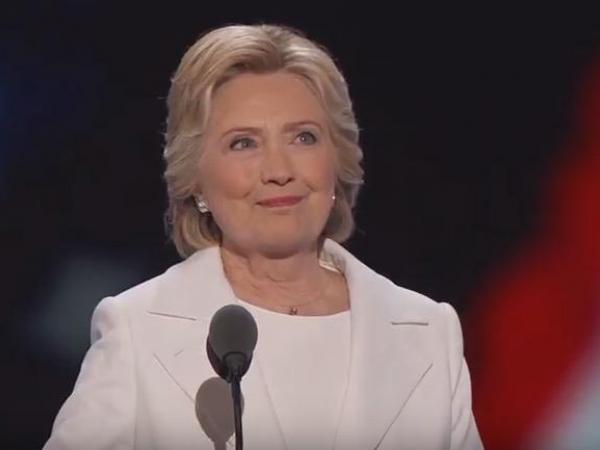 Hillary Clinton, Democratic National Convention, Philadelphia, PA, July 28, 2016