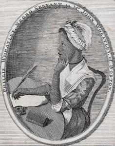 Phyllis Wheatley, 1773.