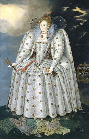 Queen Elizabeth I, 1592, by Marcus Gheeraerts