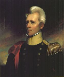Andrew Jackson by Ralph E. W. Earl, 1837.