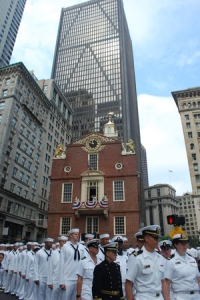 The Old State House today in Boston.